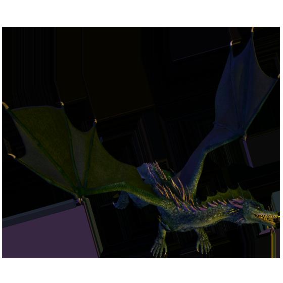 Green Dragon Token