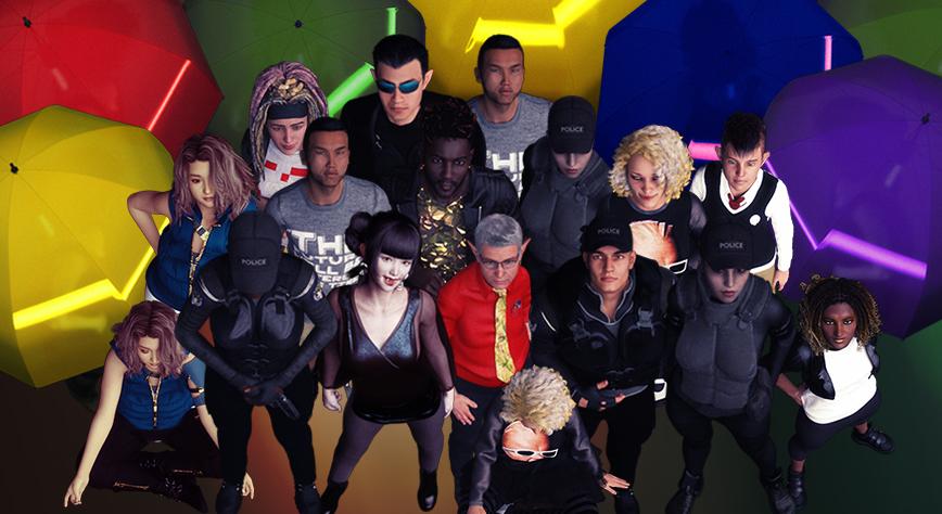 cyberpunk shadowrun vtt tokens