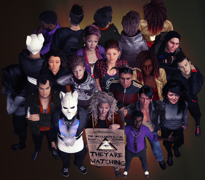 cyberpunk vtt shadowrun character npc tokens