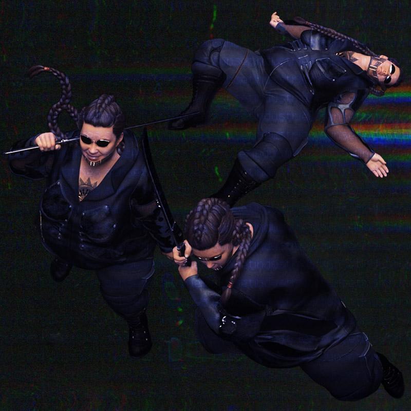 Cyberpunk VTT shadowrun tokens