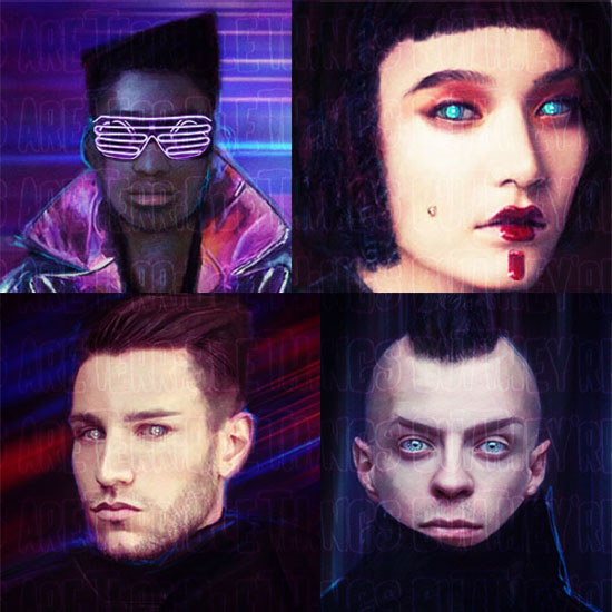 Cyberpunk portrait tokens! Yay!